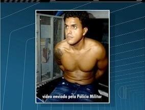 Traficante apontado como mandante de assassinato de PMs é transferido para Bangu, no RJ - Eber do Nascimento Cândido, o Ebinho, foi preso pela PM em Rio das Ostras nesta quarta-feira (9).