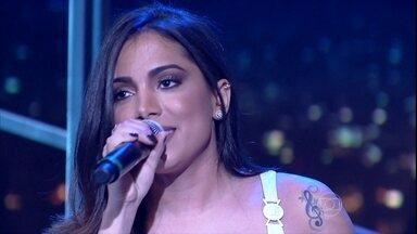 """Anitta encerra programa de quinta-feira cantando """"Bang"""" - Música dá nome ao novo álbum da cantora"""