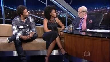 """Luciano Quirino e Heloísa Jorge falam sobre o espetáculo """"Race"""" - Os atores estão em cartaz com espetáculo do americano David Mamet"""