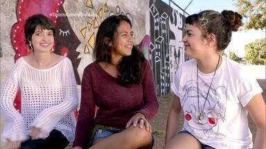 A arte que dá um toque colorido e feminino aos muros de Brasília - A arte que dá um toque colorido e feminino aos muros de Brasília