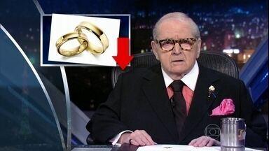 """Jô abre programa de sexta-feira comentando as notícias da """"boato press"""" - Boni é o convidado especial da noite"""