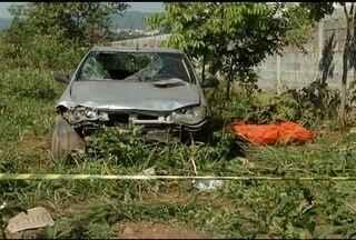 Ciclista morre atropelado por homens que fugiam após assalto em Montes Claros - Após acidente, homens continuaram a fugir a pé e foram presos.