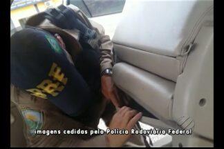 PRF apreende 46 quilos de cocaína na BR-155, em Marabá - Durante fiscalização na rodovia BR-155, policiais encontraram a droga escondida dentro de caminhonete.