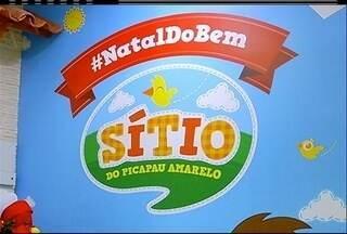 Campanha de Natal em shoping de Cabo Frio, RJ, arrecada doações para instituições - Brinquedos e alimentos podem ser doados.