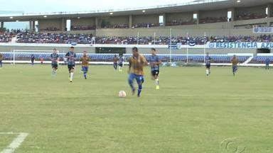 Com gols de zagueiros, CSA vence o Porto-PE em amistoso no Rei Pelé - Azulão bateu os pernambucanos por 2 a 0.