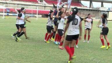União Desportiva vence Copa Rainha Marta depois de bater o CSA na final - Meninas do união ganharam do Azulão de virada.