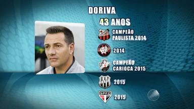 Bahia apresenta Doriva nessa segunda (21) no Fazendão; veja quem deve sair e ficar no time - Doriva assinou por um ano com o tricolor.