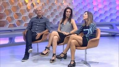 Escobar, Glenda e Cris Dias comentam bom momentos de Neymar - Apresentadores analisam craque do Brasil e chances de vencer prêmio de melhor do mundo.