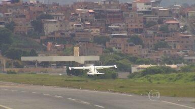 Ampliação no número de voos no Aeroporto da Pampulha preocupa moradores da região - Uma nova empresa aérea começou a operar nesta segunda-feira (28) no terminal.