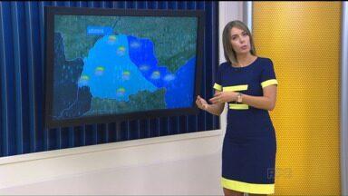 Confira a previsão do tempo para todo o estado - O dia começou nublado e pode chover mais durante a semana.