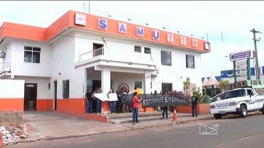 Em Bacabal, paralisação de servidores da saúde prejudica população - Em Bacabal, paralisação de servidores da saúde prejudica população