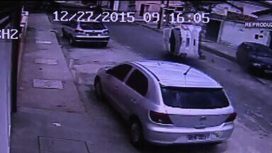 Homem morre atropelado após sair para comprar almoço em Fortaleza; veja vídeo - Motorista estava alcoolizado e tinha acabado de sair de festa.