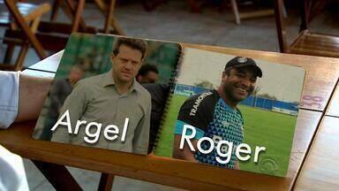 Técnicos da dupla Gre-Nal têm aspectos em comum - Argel e Roger não eram as primeiras opções dos clubes.