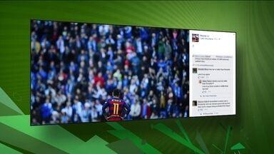 Torcedores protagonizam gritos racistas contra Neymar em jogo do Barcelona - Brasileiro sofre injúria racial durante partida do campeonato espanhol.