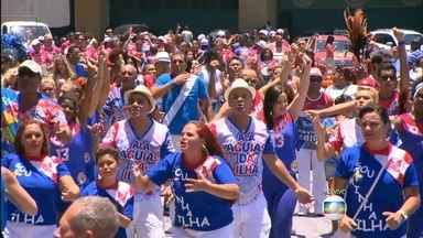 Confira os segredos do carnaval da União da Ilha - O público e até os jurados serão reverenciados durante o desfila da União da Ilha na Sapucaí.