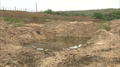 Açude de Boqueirão continua com níveis baixos - Mesmo com chuvas espalhadas pela Paraíba nos últimos dias, reservatório continua com o nível baixo.