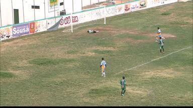 Sousa vence amistoso contra time amador - Dinossauro faz 4 a 0 sobre os pernambucanos de São José do Egito.
