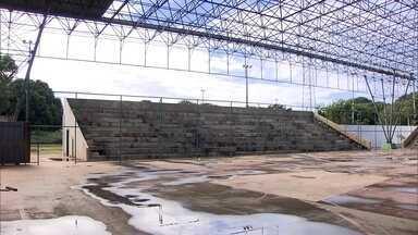 Obras do Centro Olímpico de Planaltina, no DF, estão paradas há seis anos - A previsão inicial era que o centro olímpico fosse entregue em seis meses.