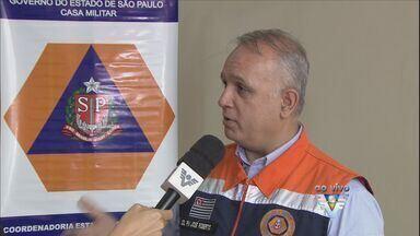 Coordenador da Defesa Civil fala sobre prevenção do mosquito da dengue - O coordenador estadual da Defesa Civil veio à Guarujá conversar sobre o combate ao aedes aegypti.