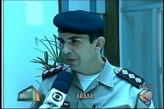 Registro de crimes violentos aumenta em Araxá, mas PM afirma que situação é estável - Foram registrados 259 ocorrência na cidade, em 2015. PM diz que situação é equilibrada já que cidade está em crescimento.