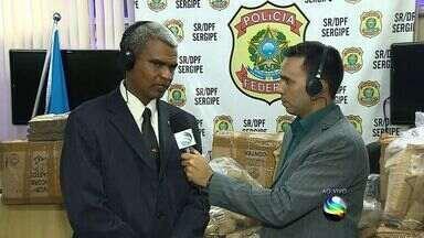 Polícia Federal detalha apreensão de drogas - Polícia Federal detalha apreensão de drogas.