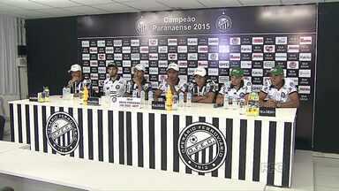 Operário apresenta mais sete jogadores para a temporada - Fantasma conheceu hoje o seu adversário na Copa do Brasil: o Criciúma, de Santa Catarina