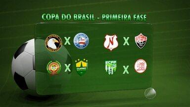 Sorteio define primeiros confronos da Copa do Brasil - Jogos ainda não têm datas definidas.
