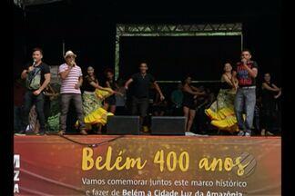 Preparativos para aniversário de Belém já começaram - Portal da Amazônia recebe programação de shows nessa segunda, 11.