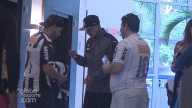 Jogadores e torcida do Galo destacam rivalidade com Corinthians, no Torneio da Flórida - Jogadores e torcida do Galo desacam rivalidade com Corinthians, no Torneio da Flórida