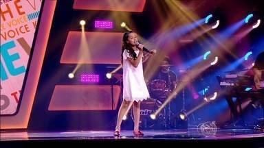 Goiana se prepara para a 2ª fase do The Voide Kids - Ana Beatriz comemora a participação no programa. Ela está no time da dupla sertaneja Victor e Léo.