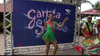Carol Reeyse representa a Unidos da Jucutuquara no Garota do Samba do ESTV - Musa da Jucutuquara tem 21 anos.