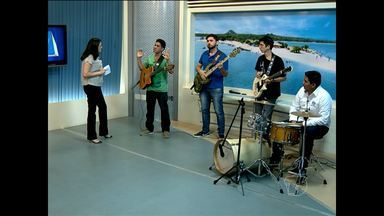 Músico Edmárcio Paixão se apresenta no 'Bate-papo cultural' - Músico realizará lançamento de DVD ainda este mês.