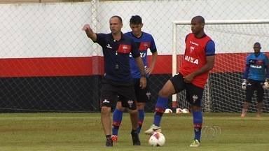 Atlético-GO fará amistoso no estádio Antônio Accioly - Dragão voltará a jogar em casa em partida contra o Gama, neste sábado.