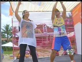 Projeto Estação Verão oferece atividades físicas gratuitas nas areias de Geribá, em Búzios - Ação é uma iniciativa da Inter TV.