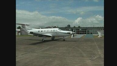 Aeroporto de Lages deve começar a receber voos comerciais dentro de 3 meses - Aeroporto de Lages deve começar a receber voos comerciais dentro de 3 meses