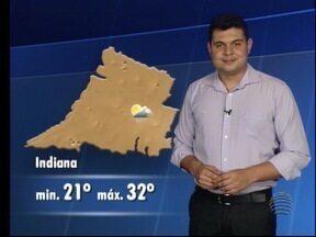Saiba como ficam as temperaturas no final de semana - Tiago Rodrigues comenta a previsão do tempo.