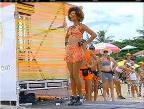 'Estação Verão' leva aulas de dança e circuito funcional às areias de Geribá, em Búzios - Projeto é uma iniciativa da Inter TV.
