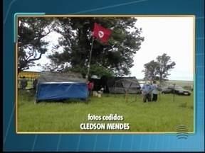 Fazenda Nazaré é invadida por integrantes do MST - Proprietário vai pedir reintegração de posse de fazenda invadida.