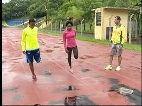 Velocistas angolanos treinam em Presidente Prudente - Eles querem obter índices para as Olimpíadas.