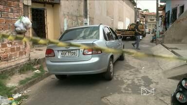 Feirante é morto a tiros e encontrado dentro de veículo no Maranhão - Feirante é morto a tiros e encontrado dentro de veículo no Maranhão