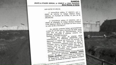 Justiça aceita denúncia contra 15 pessoas investigadas na operação Quadro Negro - Os denunciados passam a ser réus no processo que apura desvios milionários em obras de escolas estaduais.