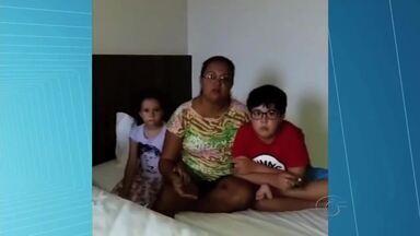 Família alagoana que faz tratamento de saúde em SP está abandonada - A família é atendida pelo programa de Tratamento Fora do Domicílio (FTD) do Estado e se encontra no interior de SP sem ter como voltar para casa.