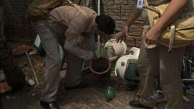 Vicente Pinzón recebe ação de combate ao Aedes Aegypti - População precisa ajudar no combate à proliferação do mosquito.
