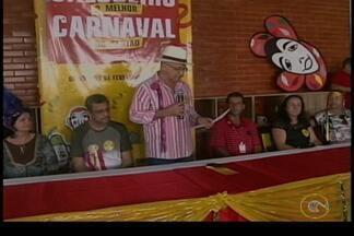 Salgueiro lançou hoje programação do Carnaval - E o evento contou com muito frevo