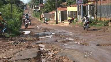 Chuvas intensas em Balsas agravam problemas causados pela erosão na cidade - Chuvas intensas em Balsas agravam problemas causados pela erosão na cidade.