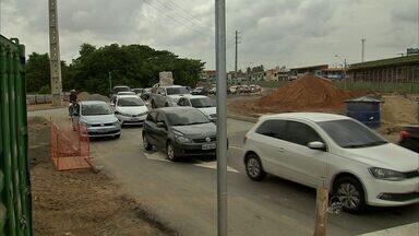 Obra de viaduto na Raul Barbosa gera novas intervenções no trânsito - Veja como ficam as mudanças.