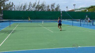 Garotos mostram qualidade no tênis na etapa de Aracaju do Circuito Nacional - Garotos mostram qualidade no tênis na etapa de Aracaju do Circuito Nacional