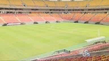 Gramado da Arena da Amazônia está pronto para receber jogos - Secretaria de Esportes e empresa responsável concederam entrevista e falaram sobre a recuperação do campo, que será palco de três rodadas duplas do Torneio Olímpico.