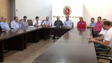 Prefeitura e Procon se reúnem para debater soluções para a crise da água em Maringá - Órgão de defesa do consumidor fala em multa, e município, em rompimento do contrato com a Sanepar