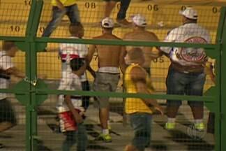 Vizinhos do Nogueirão ficam assustados após confusão envolvendo torcida organizada - Eles estão preocupados e já pensam como vão ser as próximas partidas no estádio.